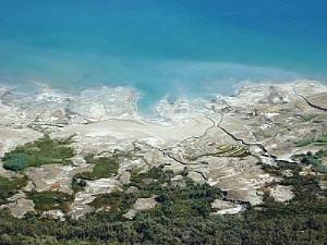 The Dead Sea in Israel and Jordan