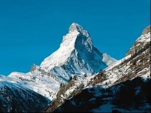 The Matterhorn Mountain in Switzerland