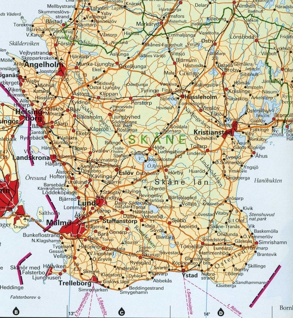Karta Over Ronne Karta 2020